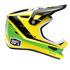 100% Status Helmet D-Day Yellow
